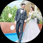 プールのある結婚式場特集