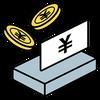 会計時等の現金の受け渡しはキャッシュトレーを利用しています。また、各種キャッシュレスでのお支払いも推奨しています。