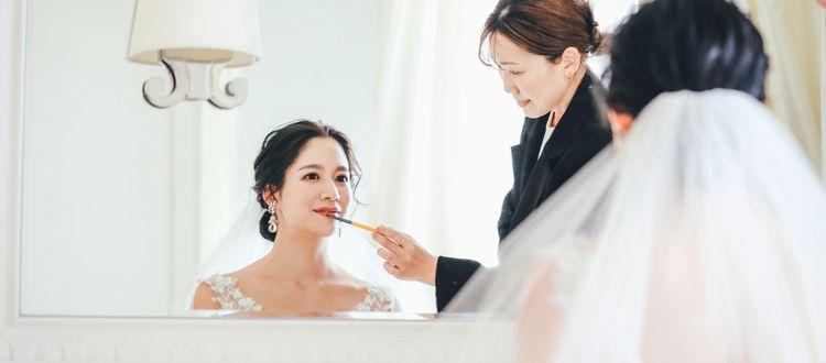 一生モノの花嫁姿は、最高のキレイで。