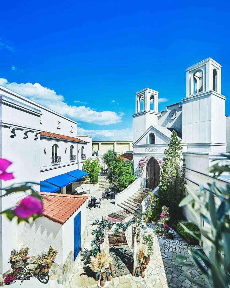 南イタリアの街並みを感じる非日常空間