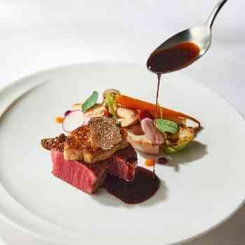 お箸で食べられる絶品和フレンチ