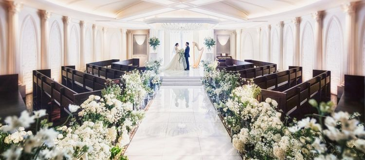 結婚式に寄り添う「美女と野獣」がテーマの美空間