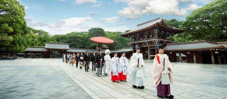 2020年に鎮座100年を迎える明治神宮が挙式の舞台