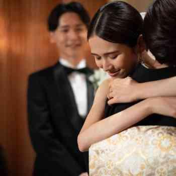 花嫁を魅了する教会で永遠の誓いを