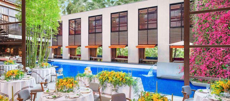 海外のラグジュアリーホテルを彷彿とさせる上質空間
