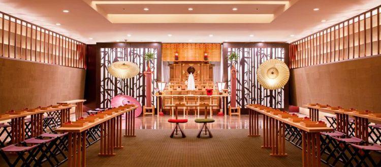 博多の総鎮守『櫛田神社』の御神体をお祀りしている