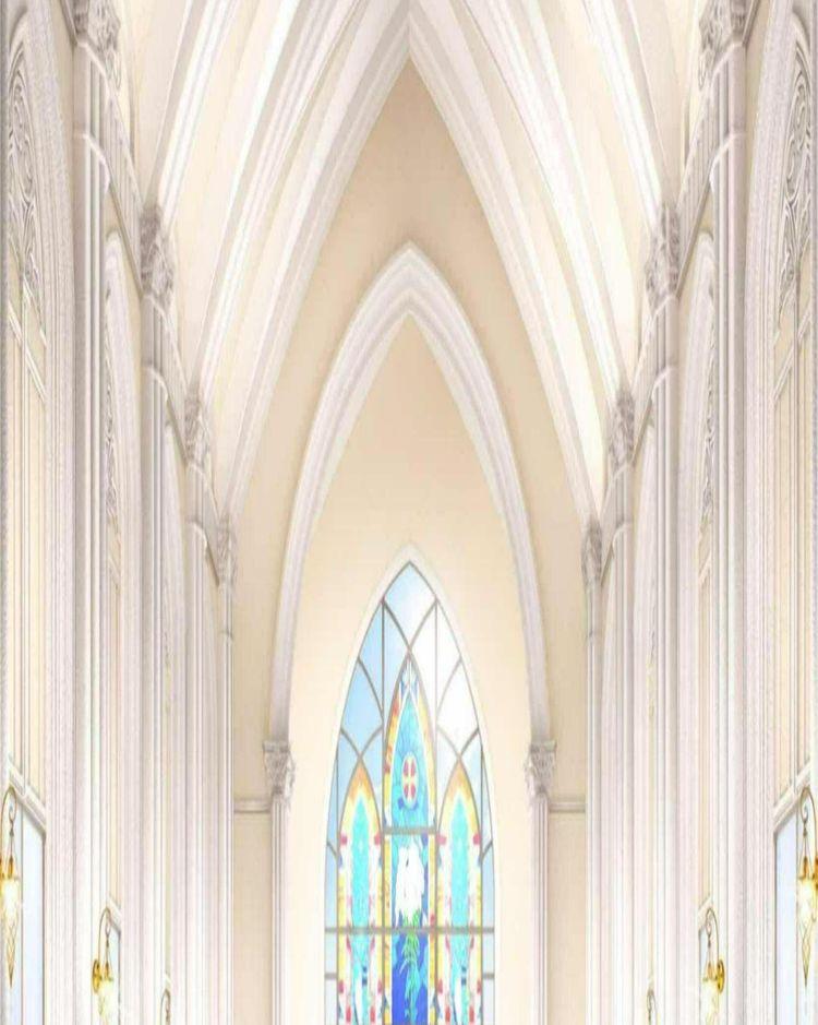広大なガーデンにそびえる大聖堂
