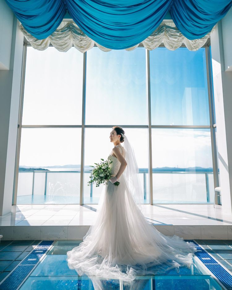 本物の海&自然光溢れるリゾート空間をブライダルフェアで体感!