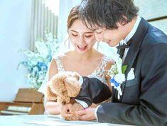 祝福に包まれるフラワーシャワー