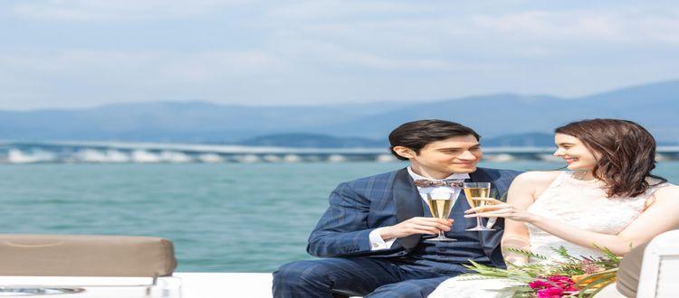 京都駅から約30分の琵琶湖畔に佇む琵琶湖マリオットホテル