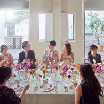 大好きなペットも一緒の結婚式