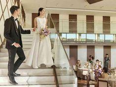 花嫁憧れワンランク上の階段入場