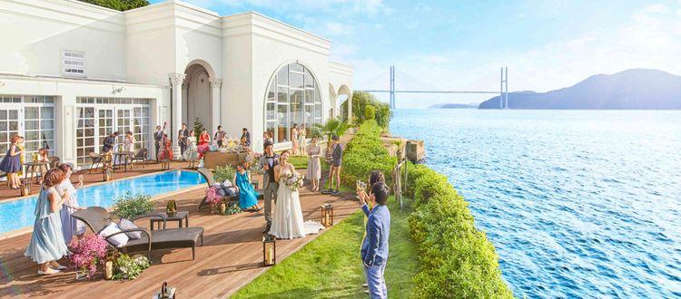 女神大橋×長崎湾×稲佐山の贅沢な眺めを独占する海辺のリゾート
