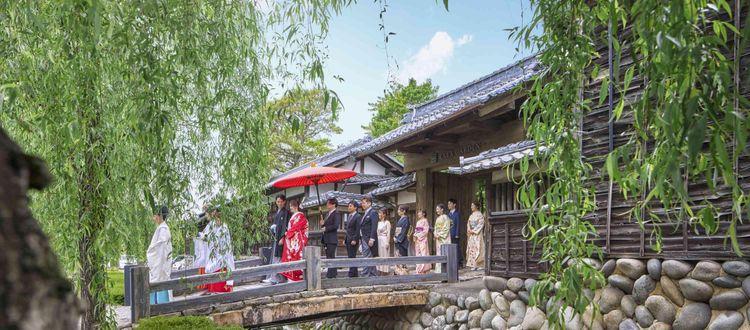 四季折々の顔を見せる日本らしい和庭園
