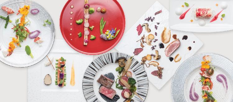 日本の繊細な食材を植木流フランス料理に仕立てる