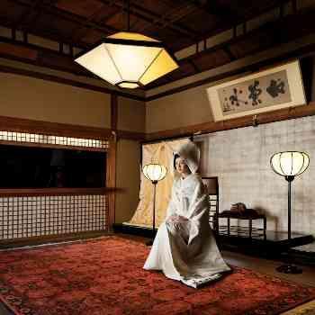 登録有形文化財で格式ある結婚式。