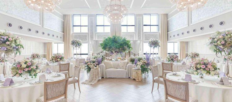 3つの披露宴会場。ご家族挙式から140名の結婚式まで。