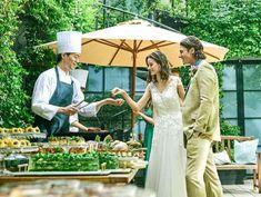 結婚式のための洗練された設備