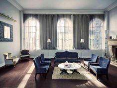 贅沢な控室