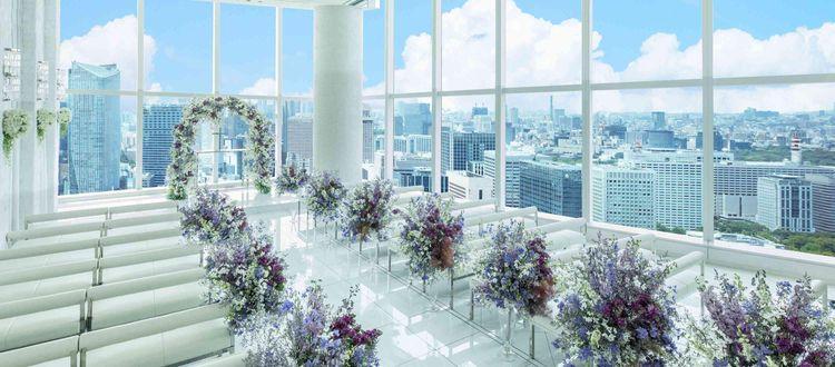 地上215mの眺望は圧巻!東京の街をふたり占め