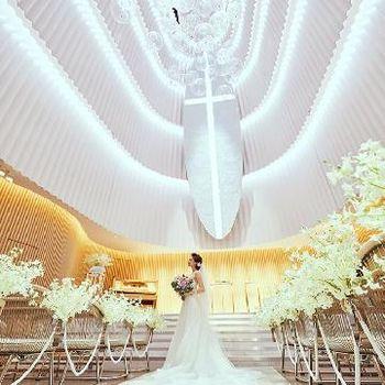 花嫁を美しく彩る最高の舞台