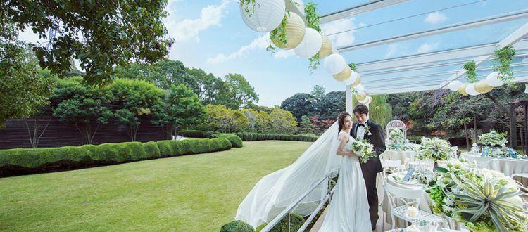 豊かな緑・桜に囲まれたガーデンと邸宅を1組貸切