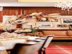 美食を楽しむ晩餐会スタイル