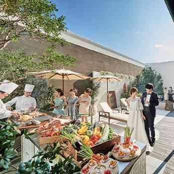 ガーデンテラス併設のパーティ会場