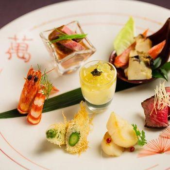 【お箸で食すフレンチ和会席】