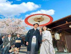 八坂神社へ向けての花嫁行列を