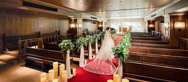 8割の花嫁がこのチャペルに魅了されてエストリアルに決めた!
