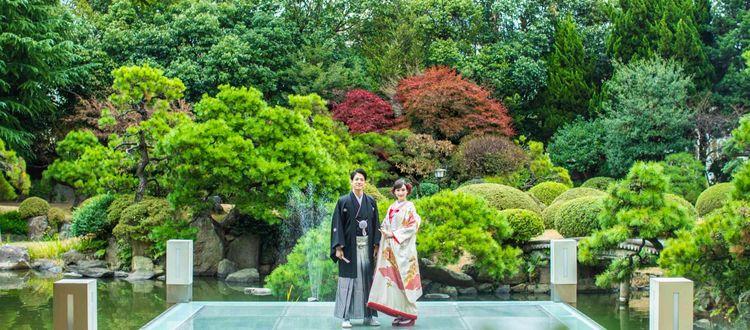 今人気の和婚スタイルを北九州最大規模の日本庭園で