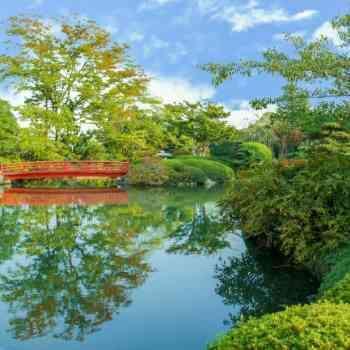 県北最大級3,000坪の日本庭園