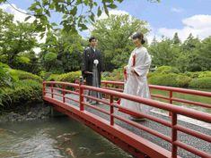 和装×日本庭園で一生の思い出を