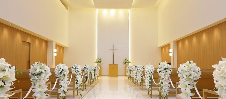 音楽堂をイメージしたチャペルで神聖な永遠の誓いを交わす