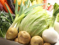 契約農家からの直送野菜