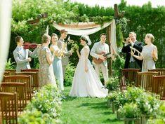 ガーデン挙式「ルミエル」も人気