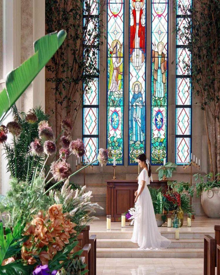 圧倒的な存在感を誇るネオクラシック様式の独立型大聖堂