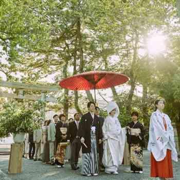 歴史ある神社で叶う和の結婚式
