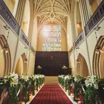 広さ・高さ県下最大級の大聖堂
