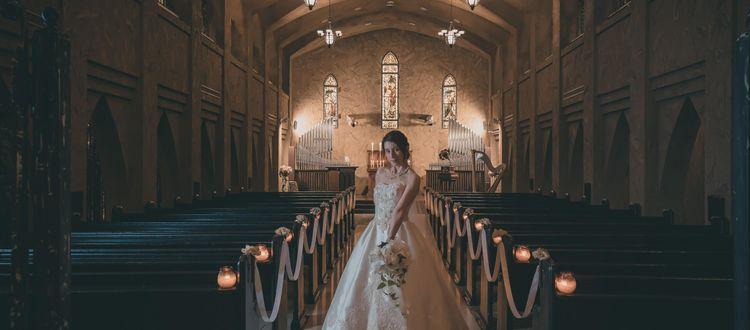 イタリアに実在している大聖堂をモデルにした本格派チャペル