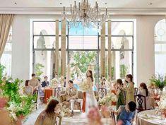 花嫁憧れの大階段入場