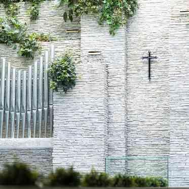 青山フェアリーハウス ドレスが映える石造りのチャペル