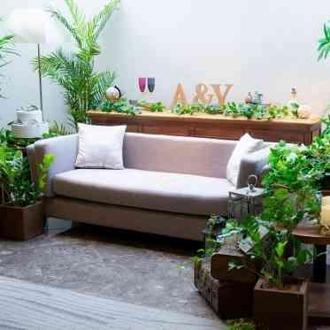 青山フェアリーハウス フォトスペースとしてソファ席を設けることも♪