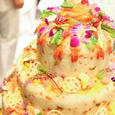 青山フェアリーハウス ケーキ入刀代わりにちらし寿司で!