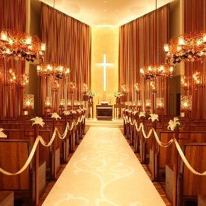覚王山ル・アンジェ教会 カサブランカの香りが心地よい礼拝堂