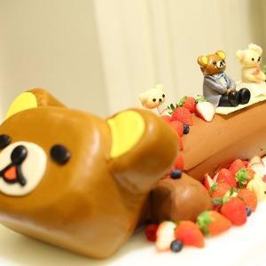 覚王山ル・アンジェ教会 キャラクターのケーキも素敵