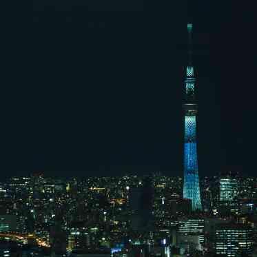 LUMIVEIL TOKYO(ルミヴェール東京) 夜にはいっそう存在感を増す東京のシンボルが華を添えるナイトタイムも人気
