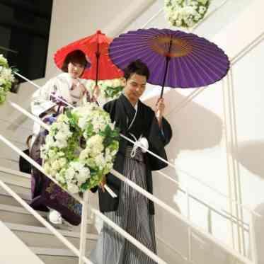 LUMIVEIL TOKYO(ルミヴェール東京) 【お色直し】和装での入場もクールに決まるのでお色直しを和装にするのもおすすめ