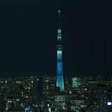 LUMIVEIL TOKYO(ルミヴェール東京) 【東京スカイツリー(R)】青い光は結婚式のサムシングブルーにもぴったり